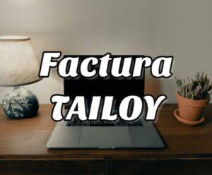 Factura tailoy