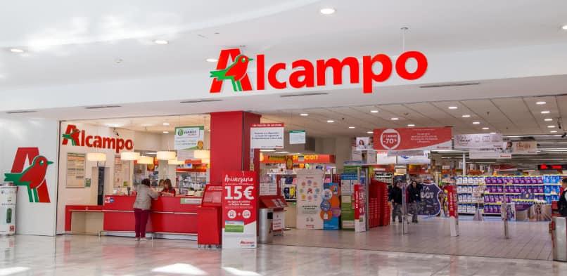 Factura Alcampo