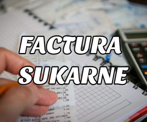 factura Sukarne