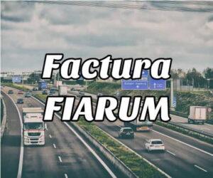 factura fiarum