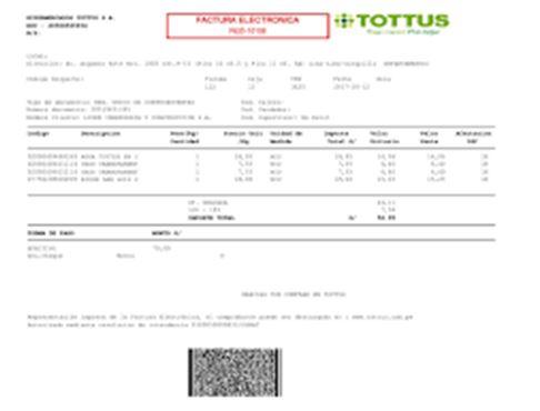 factura tottus 9