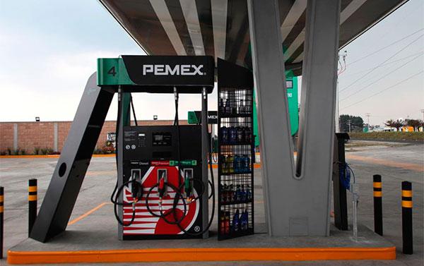 Pemex inaugura su primera estación de servicio con una nueva imagen |  Petroquimex